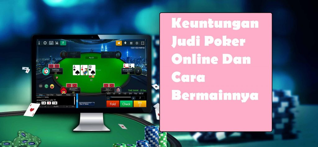 judi poker online terpercaya indonesia